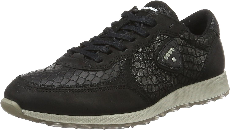 Ecco Women's Women's Sneak Fashion Sneaker Black