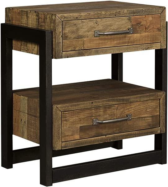 Ashley Furniture Signature Design Sommerford Nightstand Brown