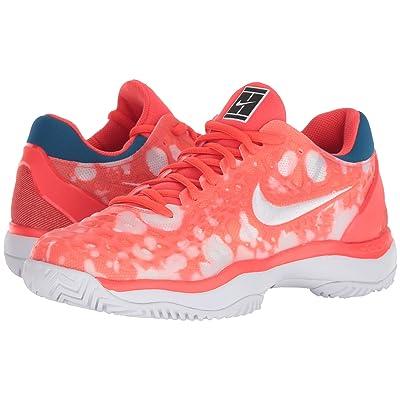 Nike Air Zoom Cage 3 Premium (Bright Crimson/White/Industrial Blue) Women