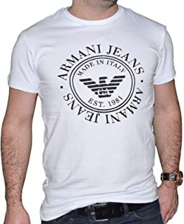 Armani Jeans Cotton Round Neck T-Shirt For Men