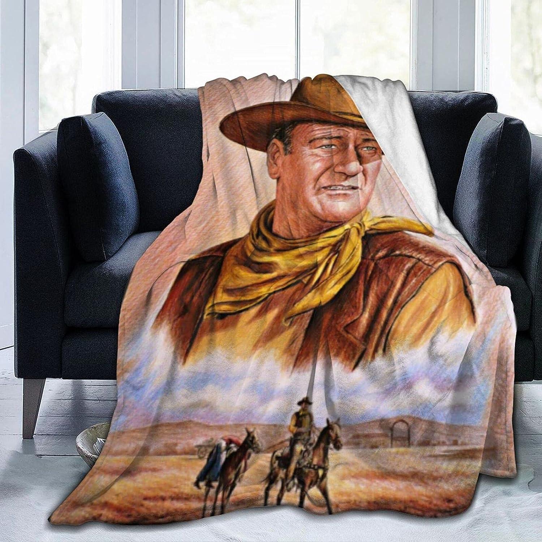 激安通販ショッピング John_Wayne Throw Blanket Lightweight Ultra-Soft 日本正規代理店品 Blankets Flannel