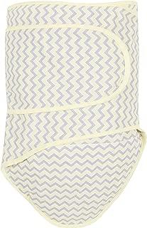 Miracle Blanket Swaddle Unisex Baby, Yellow Chevron
