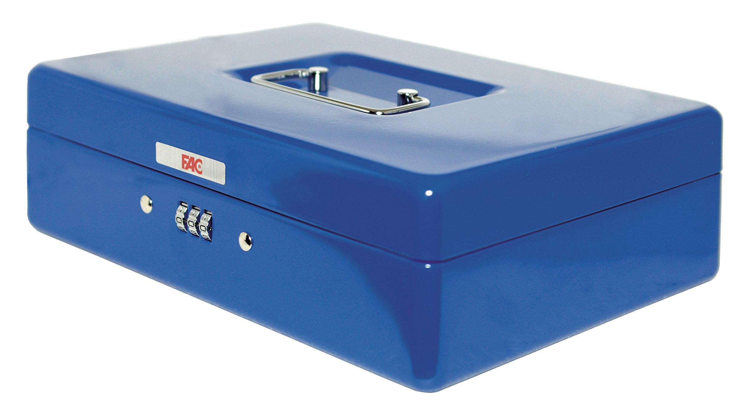 FAC 17046 Caja de caudales, Azul: Amazon.es: Bricolaje y herramientas