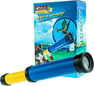 HMANE Telescope DIY Kits for Experiment Science Education STEM Toy for Kids