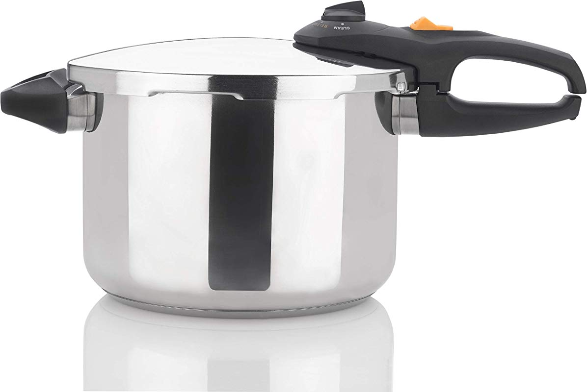 Zavor DUO 8 4 Quart Multi Setting Pressure Cooker And Canner With Accessories Polished Stainless Steel ZCWDU03