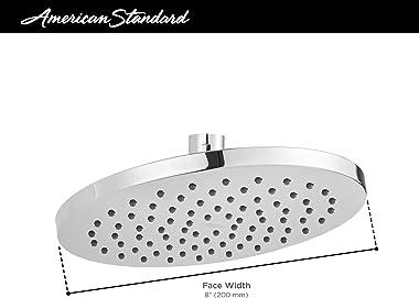 "American Standard 1660527.243 Studio S 8"" Rain Showerhead with 2.5 GPM, Matte Black"