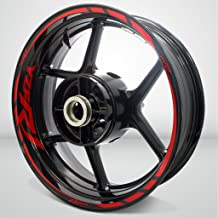 Motorcycle Rim Wheel Accessory Sticker For Yamaha YZF R1