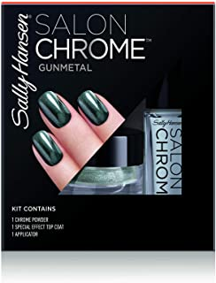Sally Hansen Salon Chrome 210 Gunmetal - 0.21 fl oz Gunmetal
