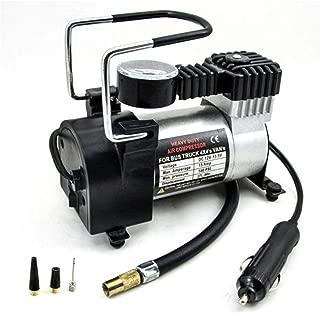 Tormeti Heavy Duty Electric Car Air Compressor Pump Portable Tire Tyre Inflator,Cooper Winding, 12V Dc, 35L/Min Air Flow