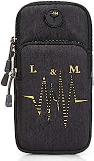 GOCART WITH G LOGO Mobile Arm Bag Men and Women Elastic Travel Mobile Arm Bag Fitness Outdoor Equipment Wrist Bag Best Run...