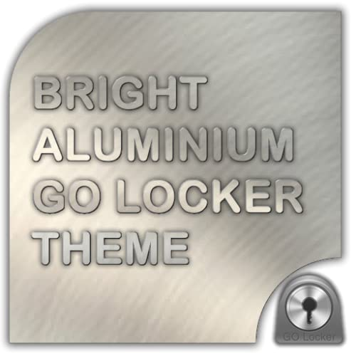 Bright Aluminium Go Locker Theme