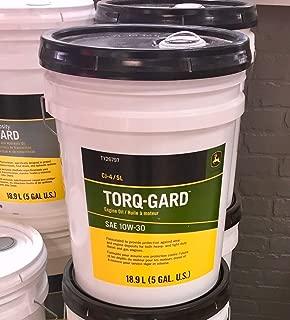 JOHN DEERE SAE 10W30 Torq-Gard Engine Oil 5 Gallon Bucket TY26797