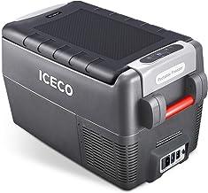 ICECO JP30 Portable Refrigerator, 12V Car Fridge Freezer, 31 Liters Compact Refrigerator with Secop Compressor, for Car & Home Use, 0℉~50℉, DC 12/24V, AC 110/240V