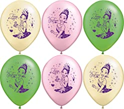 Disney Princess and the Frog Balloon - package of 6