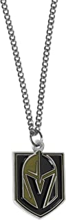 Siskiyou NHL Vegas Golden Knights Chain Necklace with Small Charm, 18