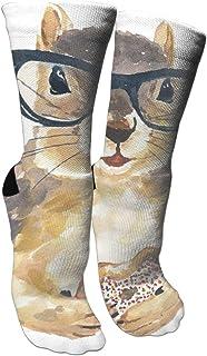 靴下 抗菌防臭 ソックス アスレチックスポーツソックス、旅行&フライトソックス、塗装アートファニーソックス30センチメートル長い靴下