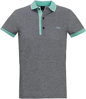 Hugo Boss Mens Slim-fit Polo Paule 4 Oxford piqué 50399185 003