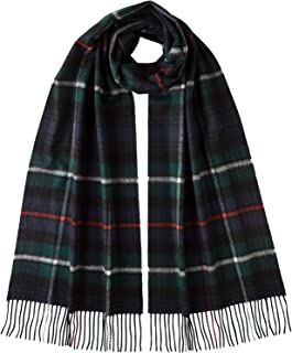 Johnstons Of Elgin 100% Cashmere New Size Tartan Scarf