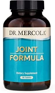 Dr. Mercola, Joint Formula with Eggshell Membrane and Hyaluronic Acid, 90 Servings (90 Tablets), Dietary Supplement, Joint Supplements for Men and Women, Non GMO, Soy Free, Gluten Free