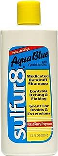 Best sulfur 8 aqua blue medicated dandruff shampoo Reviews