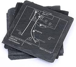 Greatest Arsenal Plays - Slate Coasters (Set of 4)