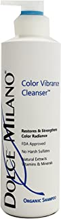 Dolce Milano Color Vibrance Cleanser Organic Shampoo, 16 oz.
