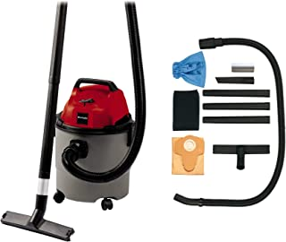 Einhell 2340290 Aspirador SECO-HUMEDO TH-VC 1815, 1250 W, 230 V, Negro, Gris, Rojo