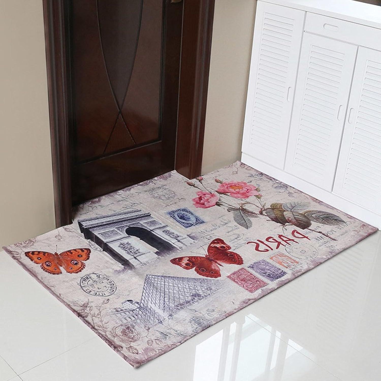 Printing Floor Mats Doormat Door Mats Doormat Door,Hall,Indoor Mats Non-Slip Mat-B 120x140cm(47x55inch)