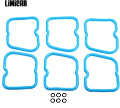 LIMICAR Valve Cover Gasket Set for 1989-1998 Dodge Ram Cummins 12V 5.9L 6BT 5.9 3902666 3910824
