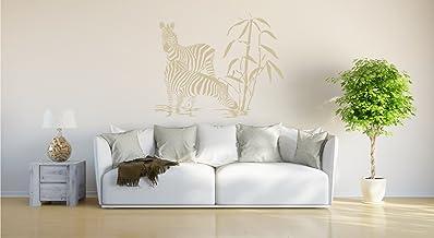 """Muursticker""""Zebra familie"""""""