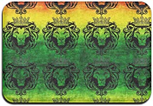 Soft Non-slip Rasta Lion Cool Bath Mat Coral Rug Door Mat Entrance Rug Floor Mats For Front Outside Doors Entry Carpet 40 ...