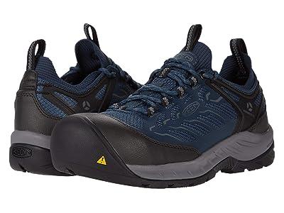 Keen Utility Flint II Sport Carbon Fiber Toe (Midnight Navy/Steel Grey) Women