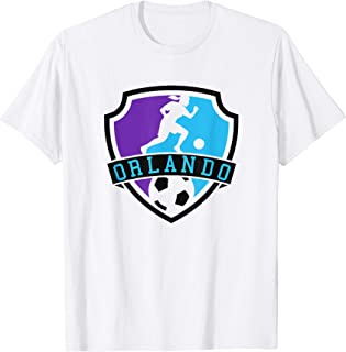 Orlando Womens Jersey American Soccer Pride Logo Top T-Shirt