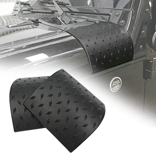 Danti Black Cowl Body Armor Outer Cowling Cover Corner Guard Fits for Jeep Wrangler Rubicon Sahara Jk Unlimited 2007-...