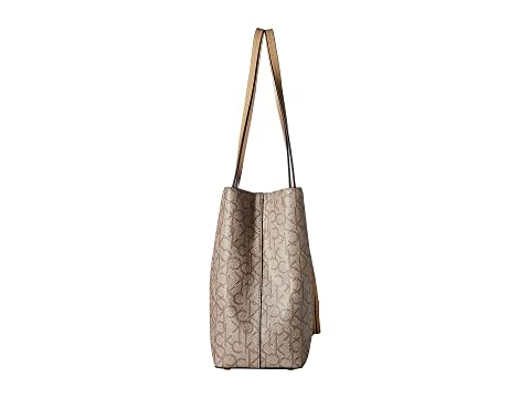Calvin Klein Monogram East/West Tote Khaki/Brown/Nude Eastbay Cheap Price Fast Express Cheap Geniue Stockist Outlet Official rGvvtpAI