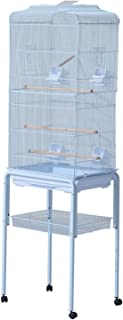 clear view bird cage