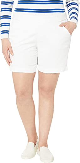 "8"" Plus Size Gracie Pull-On Shorts"
