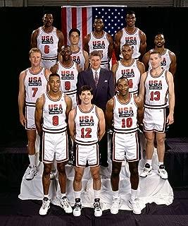 1992 USA Olympic Men's Basketball Dream Team Michael Jordan Poster Art Print 17