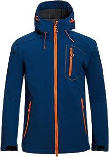 GAOXIAOMEI Men's Ski Winter Snow Coat Big Pockets Waterproof Mountain Hiking Snowboard Jacket Outdoor Minimalist Slim Fit ...