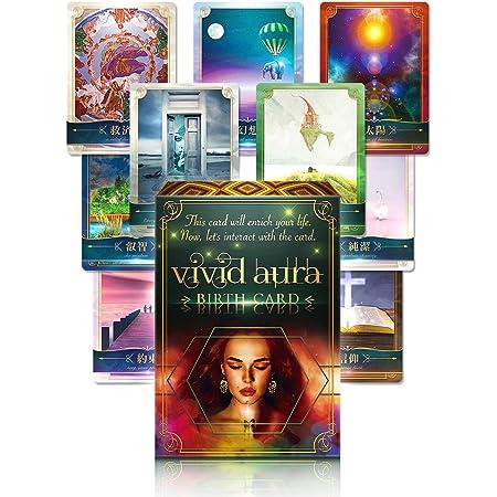 オラクルカード vivid aura BIRTH CARD oracle card【日本語正規品】初心者にも オラクルカード標準サイズ127×88 [mm]