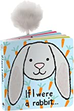 Jellycat Book If I were a Rabbit (Grey Bunny) - Board Book