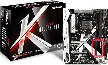ASRock X370 Killer SLI AM4 AMD Promontory X370 SATA 6Gb/s USB 3.0 HDMI ATX AMD Motherboard
