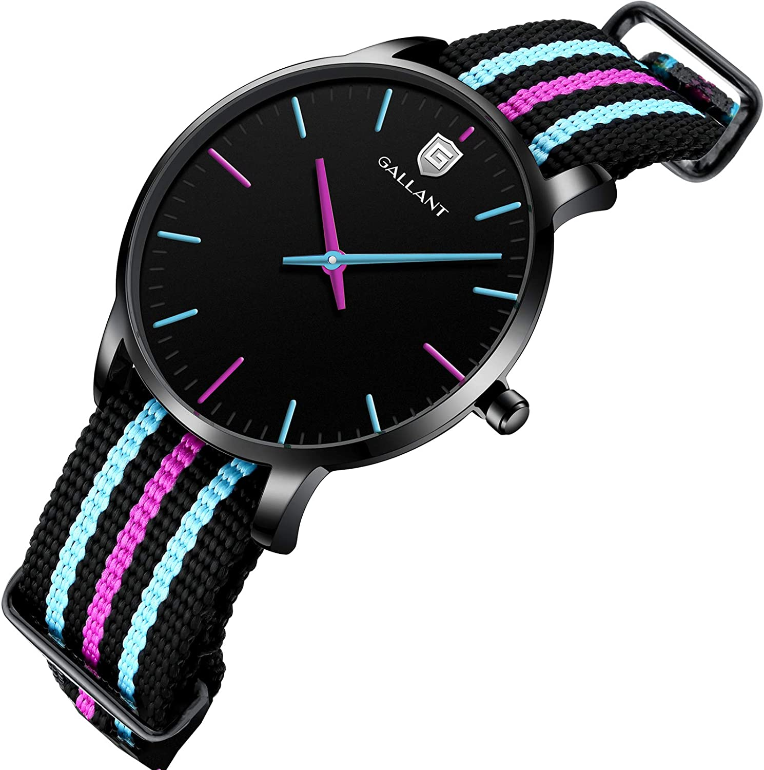 Women's Classic Watch Analog Max 46% OFF Quartz Watches Band Strap with Nylon