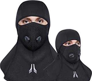 Venoro Balaclava Ski Face Mask Winter Cold Weather Fleece Windproof Ski Mask Neck Warmer with Breathable Vents for Skiing Cycling Motorcycling for Men and Women