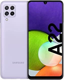 Samsung Galaxy A22 Smartphone without Contract 6.6 Inch 128 GB Android Mobile Mobile Violet