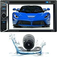 """$124 » Gravity 6.2"""" Car Stereo CD DVD Double Din 2DIN Receiver w/Bluetooth + Waterproof Back Camera Car Audio Player for Car, AT..."""