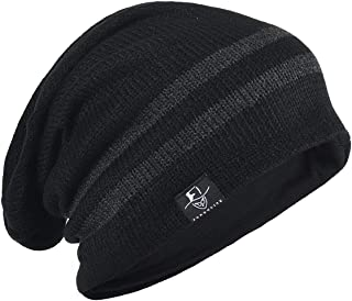 FORBUSITE Knit Slouchy Beanie Hat Skull Cap for Mens Winter Summer