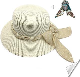 Elegant Damen Sonnenhut Sonnenschutz Sommer Hut Organza Fascinator Hut Kappe