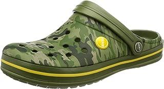 [福尔沃特] 男士 EVA轻量 鳄鱼凉鞋 迷彩 花纹凉鞋 拖鞋 室内鞋 洞洞鞋凉鞋 男士