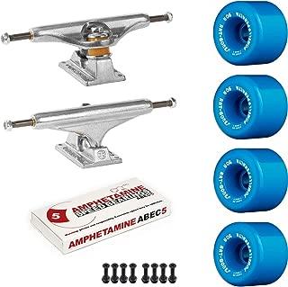 Powell-Peralta Old School Skateboard Pack Independent 169 Trucks Rat Bones Blue Wheels W/Bearings